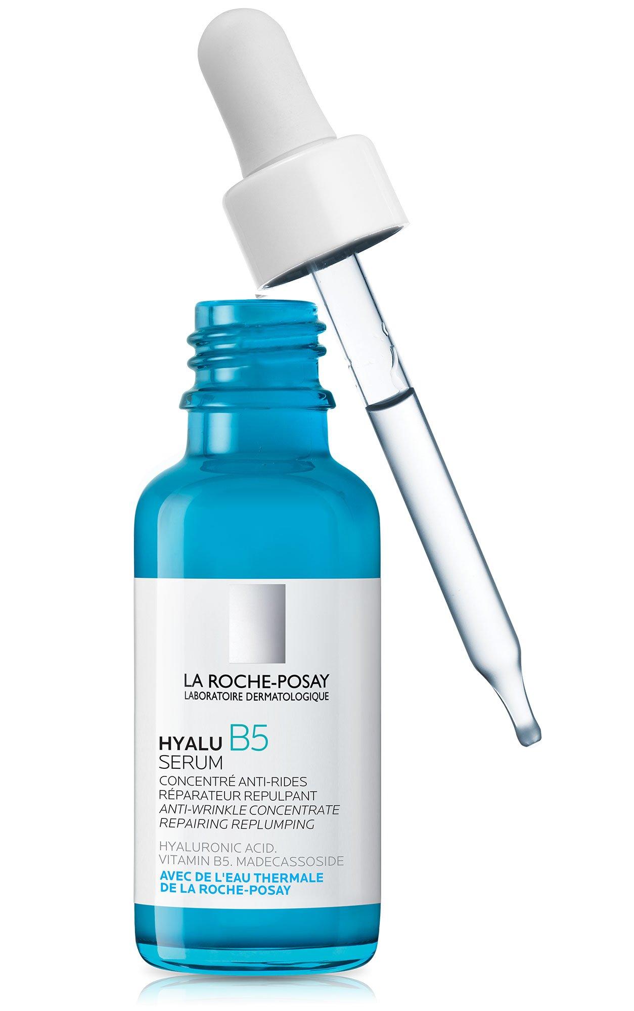 La Roche-Posay Hyalu B5 Hyaluronic Acid Serum Anti-Wrinkle Concentrate, 1.01 Fl. Oz.