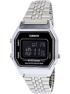 f562e838b9f61 Relógio Unissex Digital Casio Vintage A168WA-1WDF - Prata  Amazon ...