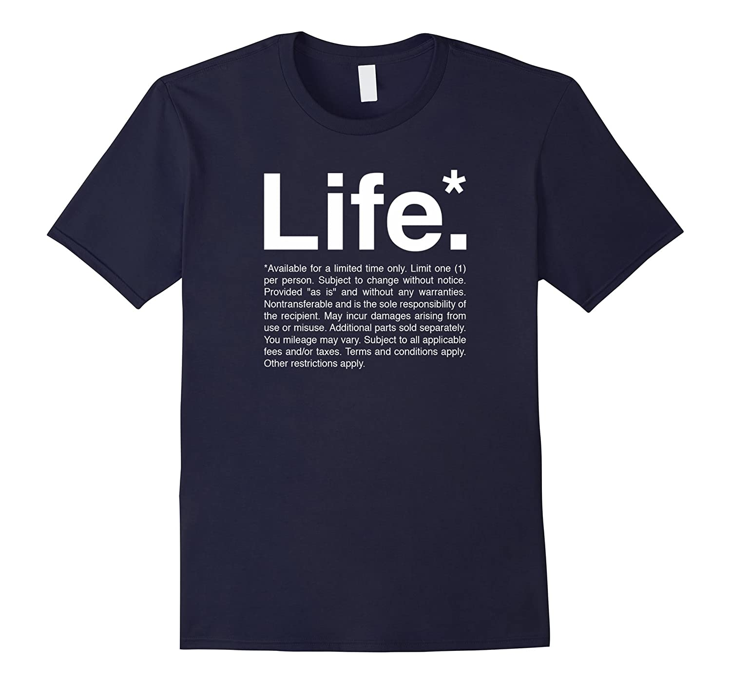 Life T-Shirt Typography Design-FL