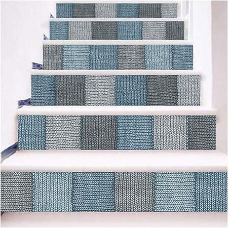 SERFGTFH Pegatinas De Escalera Cactus En Macetas Decoración Habitación Niños Nórdicos Moda Escaleras Creativas De Pared Decorativos: Amazon.es: Hogar