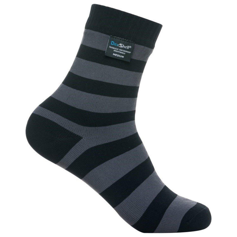DexShell Ultralite Bamboo Waterproof Socks, Stripe
