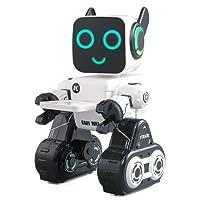 Robot Jouet [JJRC R4] Cady Wile 2.4G Gestion de l'argent Son Interaction Geste Capteur de Contrôle Robot Cadeau D'anniversaire Présent cadeau de robot(Blanc)®Beetest