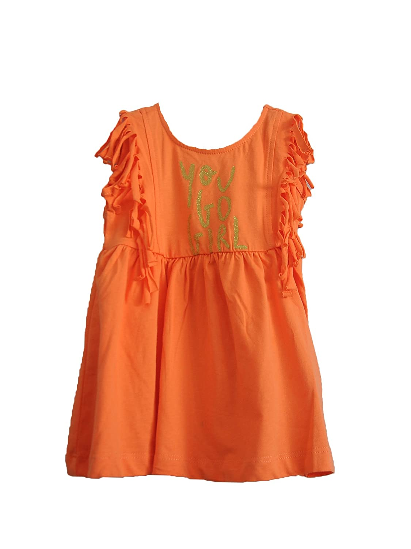 233d79b2833d Amazon.com  Zeyland 18 Months - 12 Years Baby Girls Trimmed Shoulder Soft  Cotton Summer Dress  Clothing