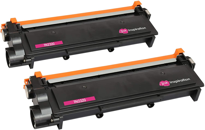 2 Tóners compatibles con Brother TN2320 HL-L2300D HL-L2320D HL ...