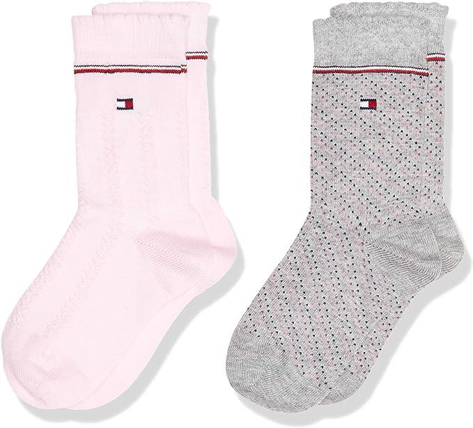 Tommy Hilfiger calcetines (Pack de 2) para Bebés: Amazon.es: Ropa y accesorios