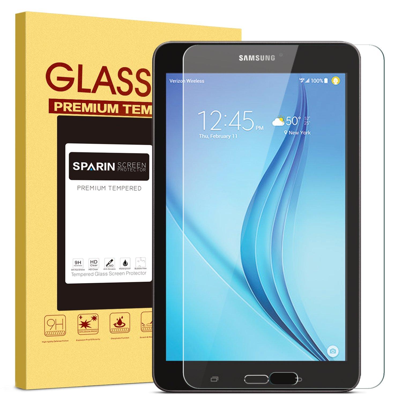 09925d18e33 Amazon.com: SPARIN Samsung Galaxy Tab E 8.0 Screen Protector, [.3mm ...