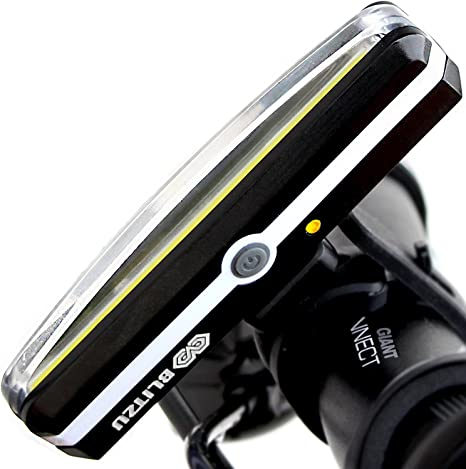 BLITZU Cyborg 168H Faros delanteros recargables USB Luz de bicicleta súper bri