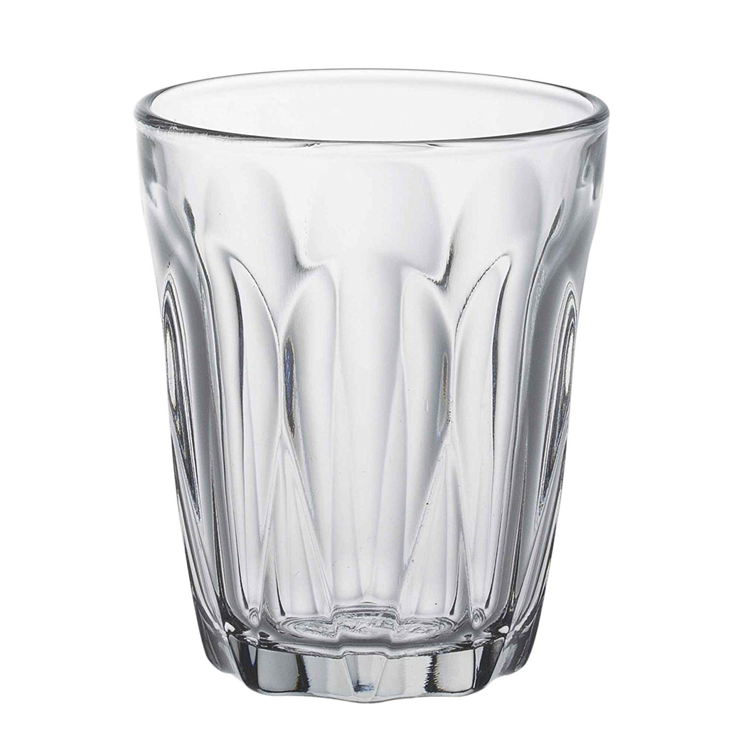 Duralex Provence water glass 130ml, without filling mark, 6 Glasses 1037AB