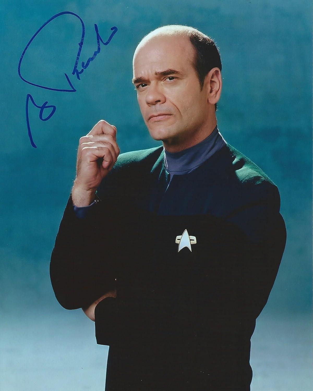 Star Trek Voyager Hologram Doctor Signed Autographed Robert Picardo 8x10 Photo