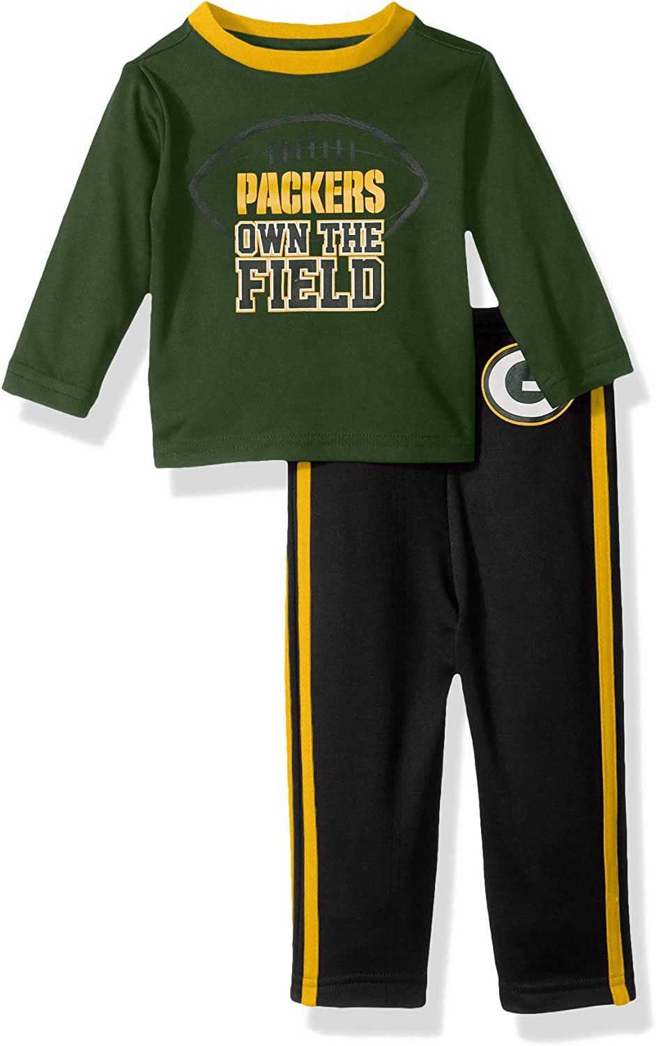 NFL Boys Short Sleeve Tee /& Pant Set