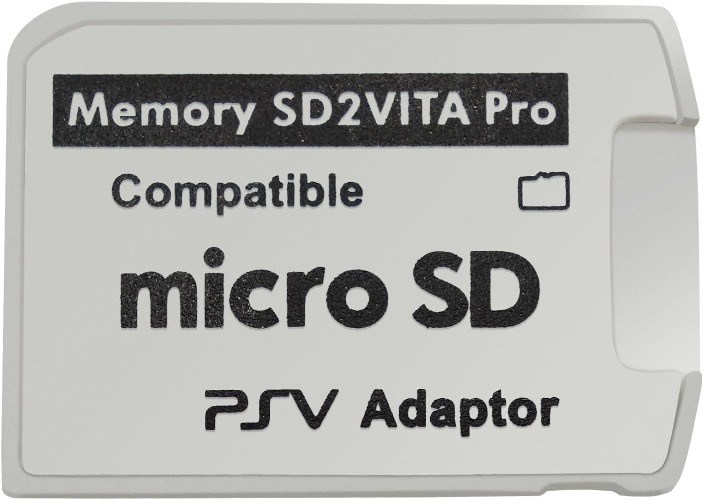 Funturbo Ultimate Version SD2Vita 5.0 Memory Card Adapter, PS Vita PSVSD Micro SD Adapter PSV 1000/2000 PSTV FW 3.60 HENkaku Enso System: Electronics