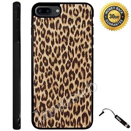 Amazoncom Custom Iphone 7 Plus Case Cheetah Print Edge To Edge