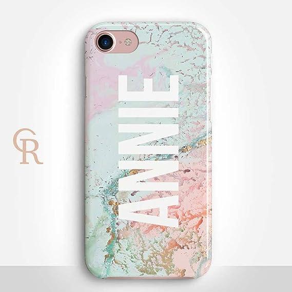 amazon com personalized iphone 7 case by catching rainbows stylish