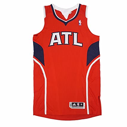 adidas Atlanta Hawks NBA Red Official Authentic On-Court Revolution 30 Alternate  Jersey for Men dc927d612