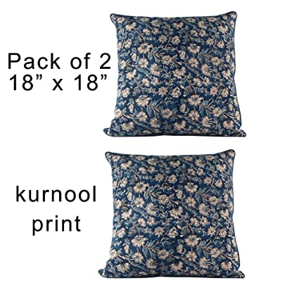 Buy Decorative Indian Hand Made Print Cotton Throw Pillow Covers Enchanting Affordable Decorative Pillows