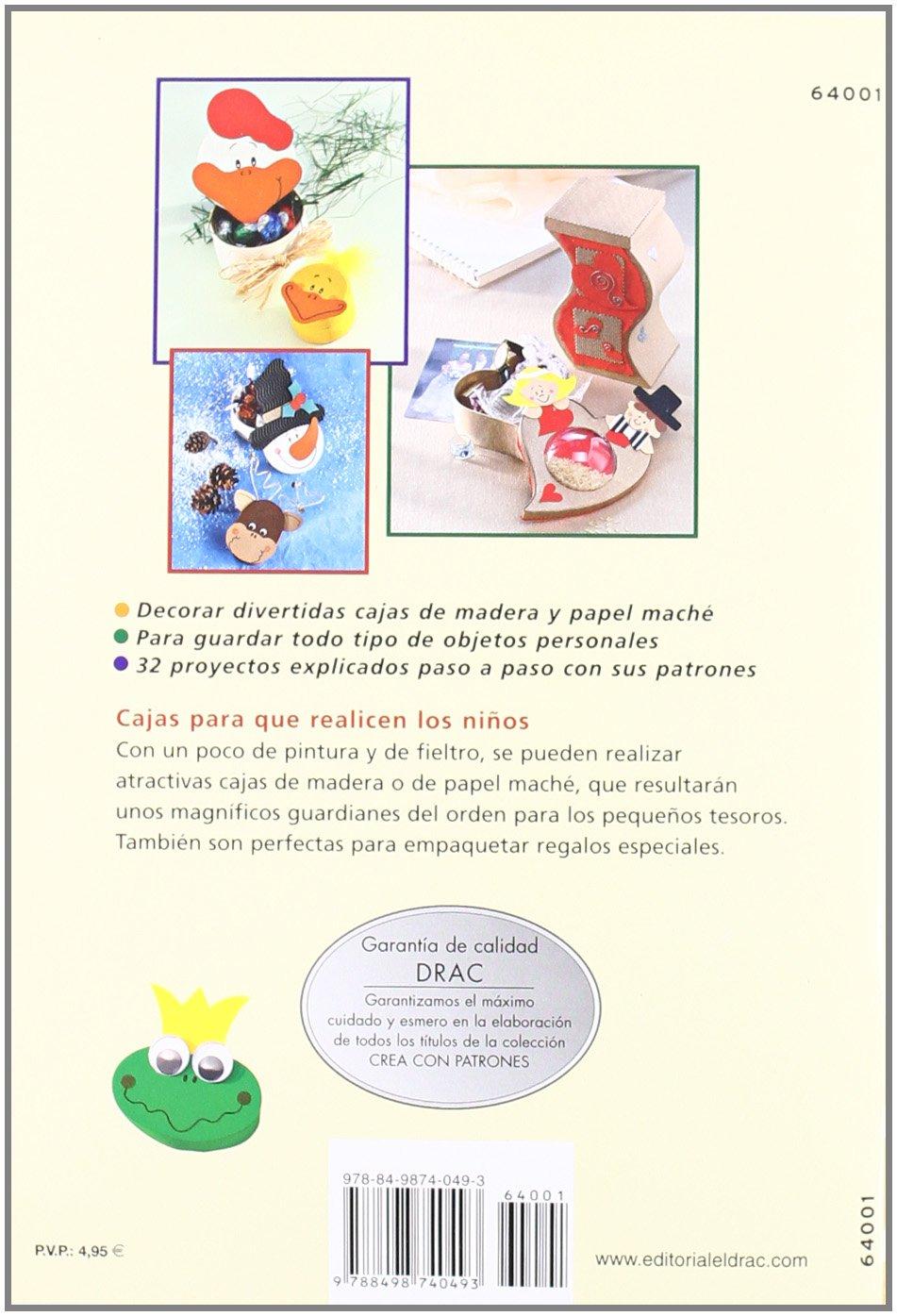 Serie decorar cajas nº 1. DECORAR CAJAS CON FIELTRO, POMPONES, CARTÓN, CUENTAS.PARA NIÑOS Cp - Serie Decorar Cajas: Amazon.es: Gudrun Schmitt: Libros