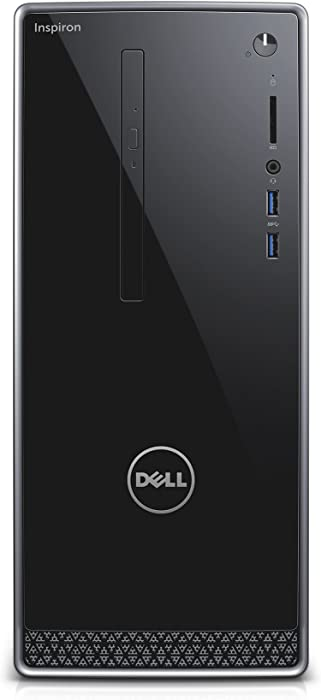 DELL Inspiron i3650 – 0635slv Desktop (6th Generation Intel Core i5, 8 GB de RAM, 1 TB HDD, wifi, bluetooth, windows 10 home)