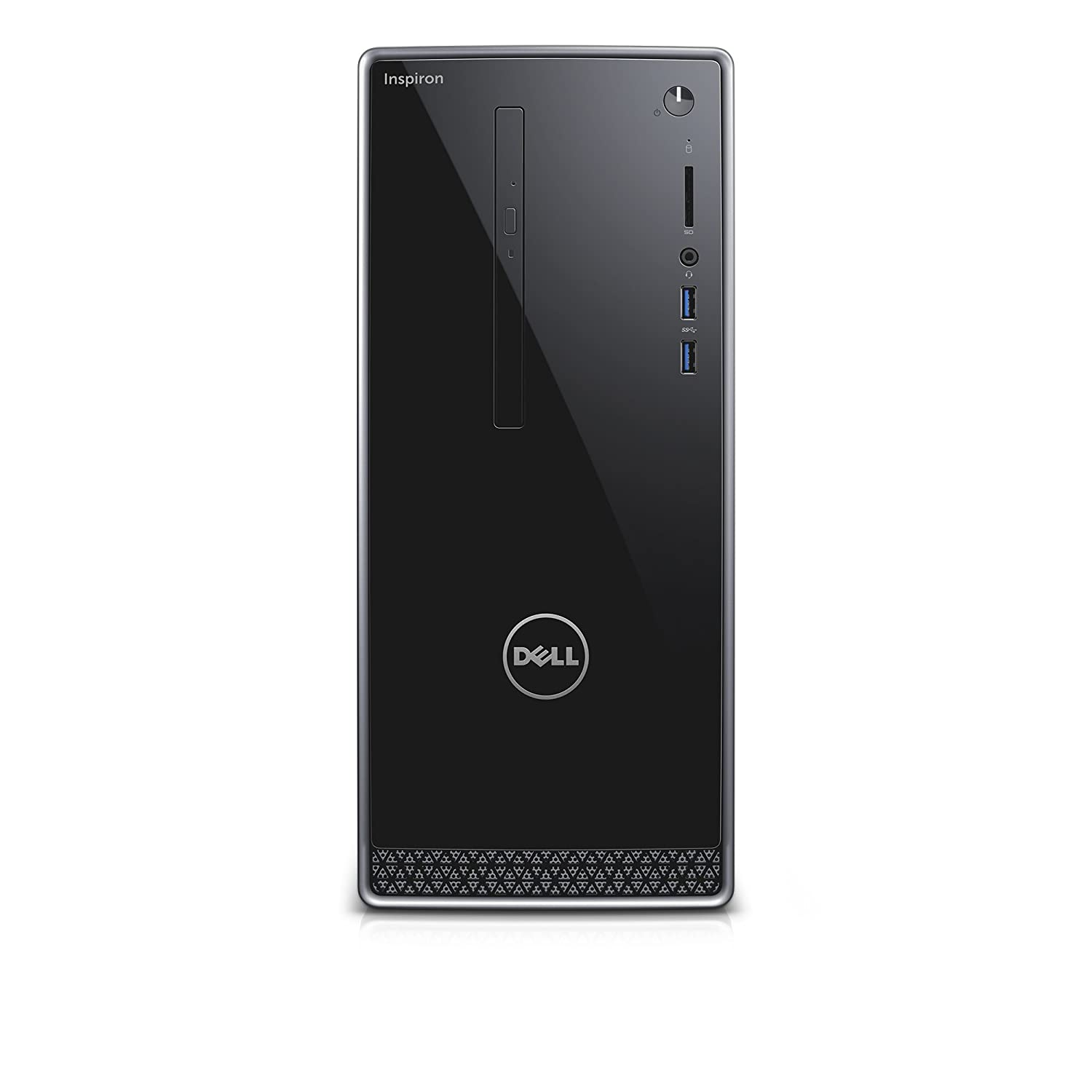 Dell | Inspiron i3650-1551SLV Desktop | Intel Core i3, 8 GB RAM, 1 TB HDD, Silver | No Monitor Included