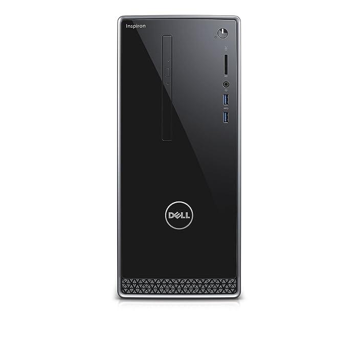 Dell Inspiron i3650-3756SLV Desktop (Intel Core i5, 12 GB RAM, 1 TB HDD, Silver) No Monitor Included