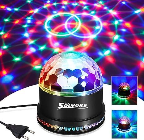 Leds Boule Projecteur Lampe Lumière Soirée 5x12 5x13cm Boule
