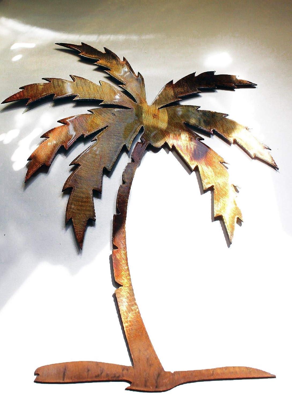 Amazon Com Palm Tree Metal Wall Art Decor In 12 16 18 20 26 30 And 36 Handmade