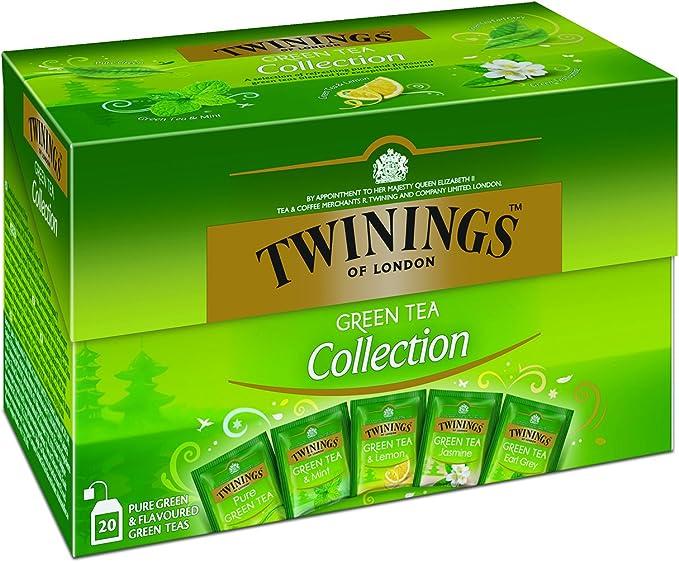 Twinings Green Tea Collection 20 Bolsitas de té: Amazon.es: Alimentación y bebidas