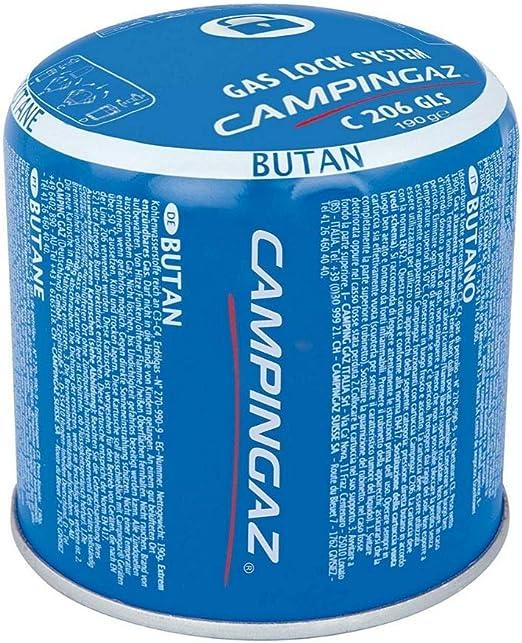 12 x 190g Campingaz C206 GLS Pierceable Cartridges - New With Gas Lock System by Campingaz