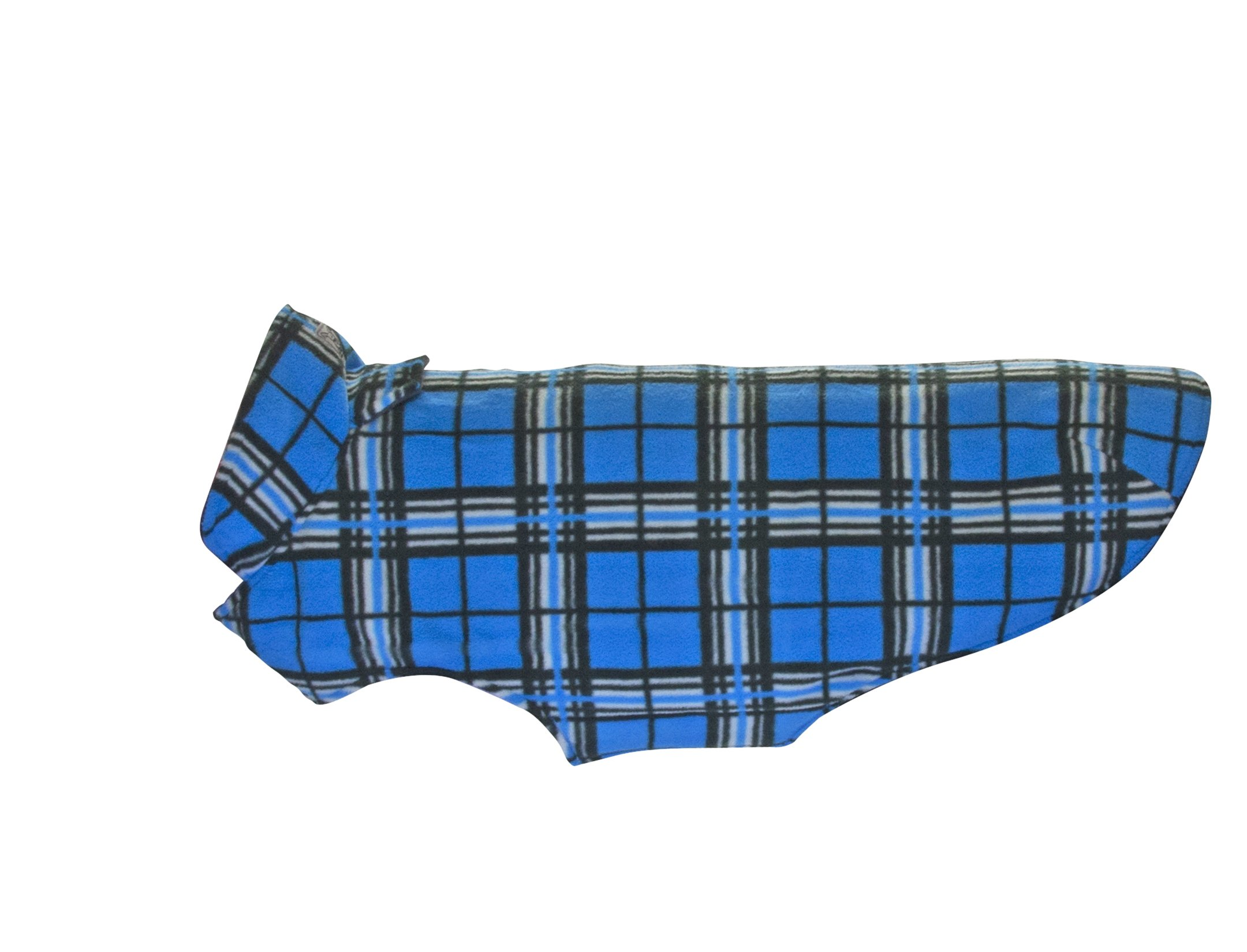 RC Pet Products Whistler Winter Wear V.2 Fleece Dog Coat, Size 28, Blue Tartan by RC Pet Products