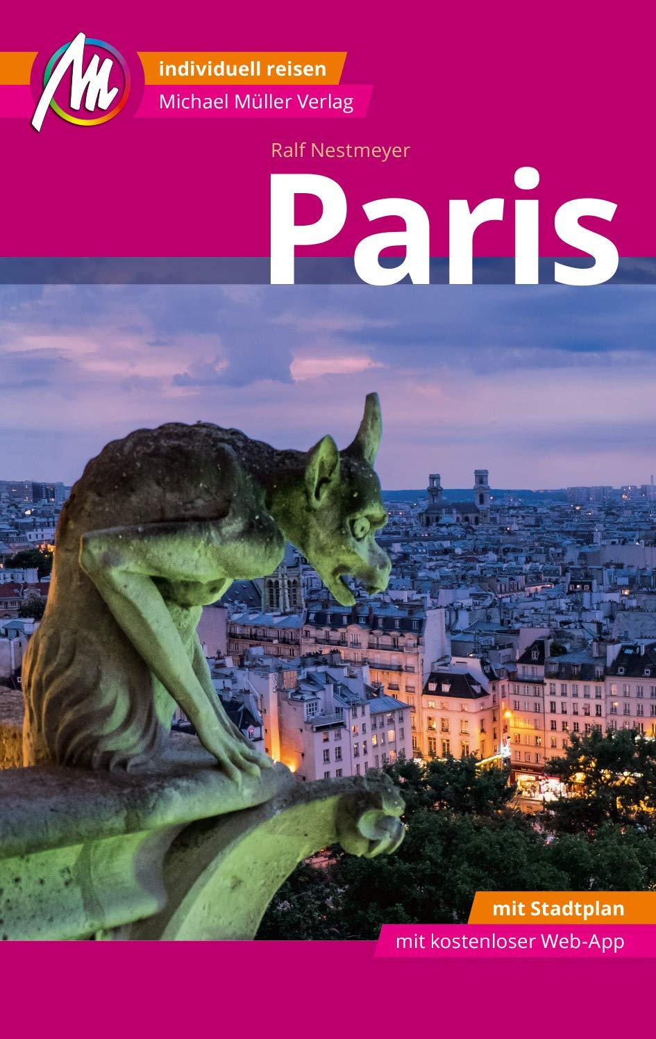 Karte Paris.Paris Mm City Reiseführer M 1 Karte 9783956546372 Amazon Com Books