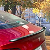 Topfit Alerón de fibra de carbono personalizado, ala trasera para el techo del maletero, alerón trasero para modelo 3