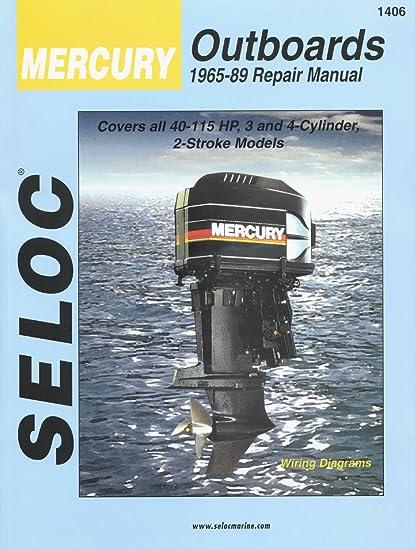 amazon com sierra international seloc manual 18 01406 mercury sierra international seloc manual 18 01406 mercury outboards repair 1965 1989 40 115