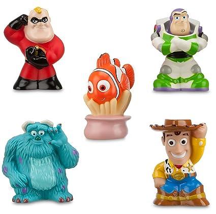 Amazon Com Disney Pixar Toy Story Woody Buzz Sulley Nemo Mr