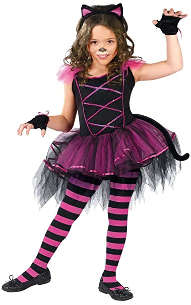 Amazon.com: Niño Catarina Disfraz de bailarina Cat Tutu – 3 ...