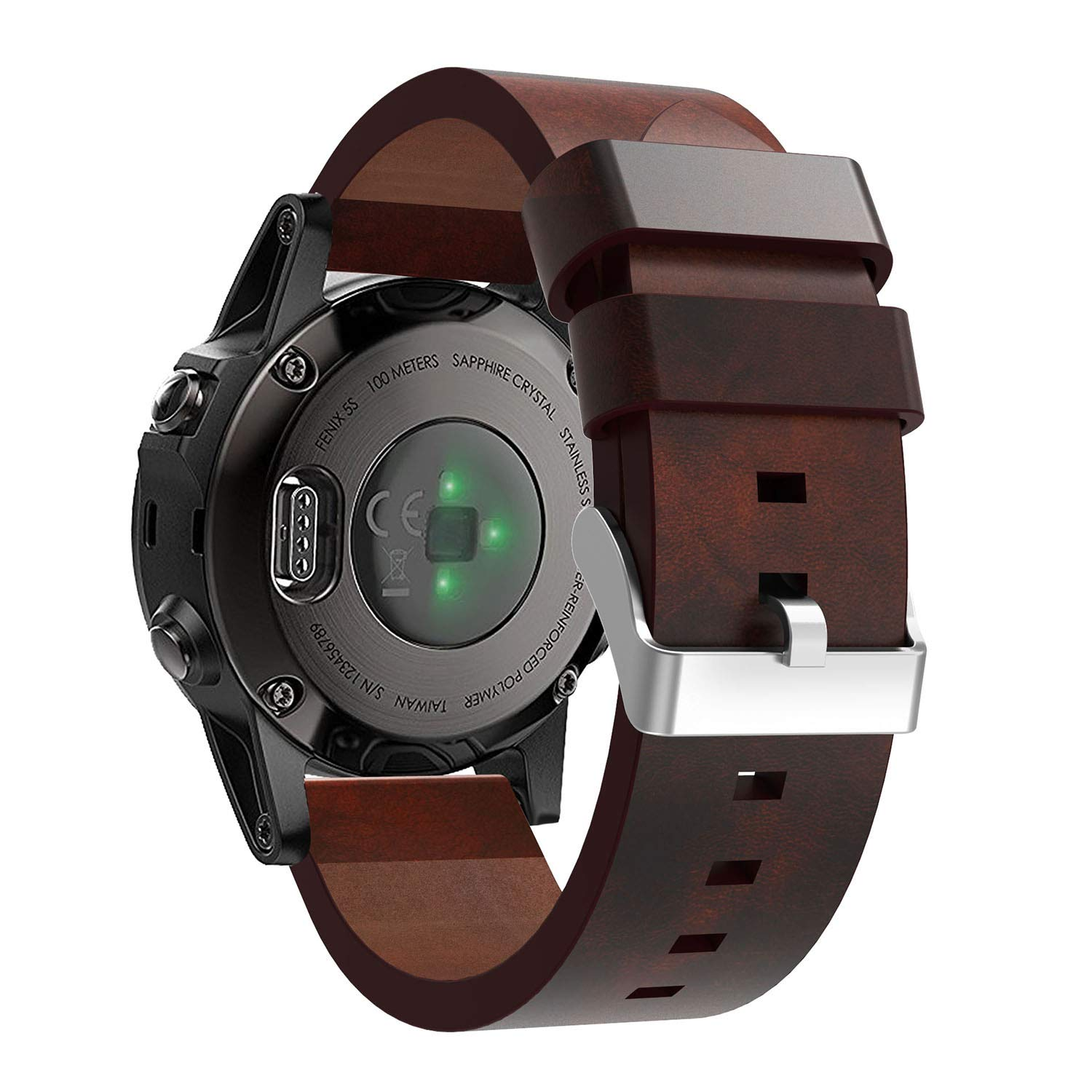 Amazon.com: Compatible Garmin Fenix 5S Watch Band Women Men ...