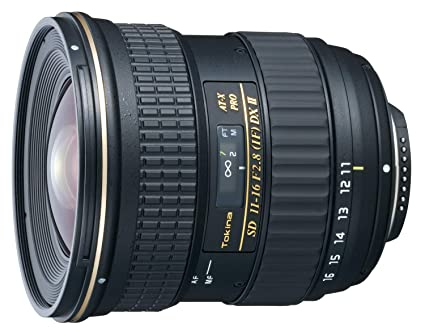 Tokina 11-16mm f/2 8 AT-X116 Pro DX II Digital Zoom Lens (AF-S Motor) (for  Nikon)