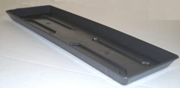 Drip Tray For Balcony Box Plastic Flower Box Planter 100 Cm