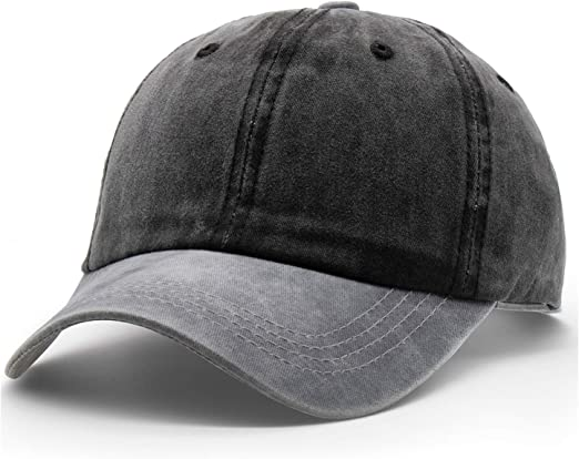 New Mesh Vintage Baseball Cap Ball Dad Hat Adjustable Washed Cotton Mens Women