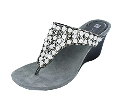 a307dfd4ee578 Amazon.com | White Mountain 'Niche' Women's, Pewter - 7 M | Shoes