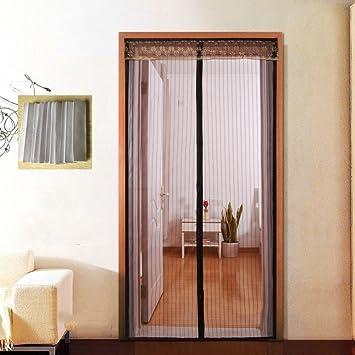 Mosquitera Magnético de la malla puerta del velcro Marco completo velcro Malla mosquitera-G 100x210cm(39x83inch): Amazon.es: Bricolaje y herramientas