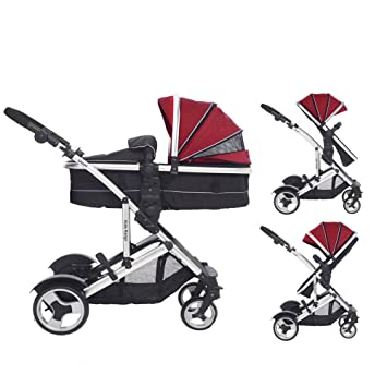 Cria Combi Single Converts To Double Pushchair Pram Carrycot Toddler Seat Sold SeparatelySuitable