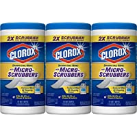 3-Pack Clorox Disinfecting Wipes (Crisp Lemon, 70 Count Each)