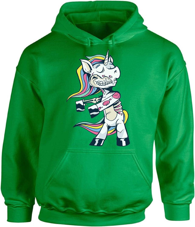 Awkward Styles Halloween Hoodie Zombie Unicorn Hooded Sweatshirt