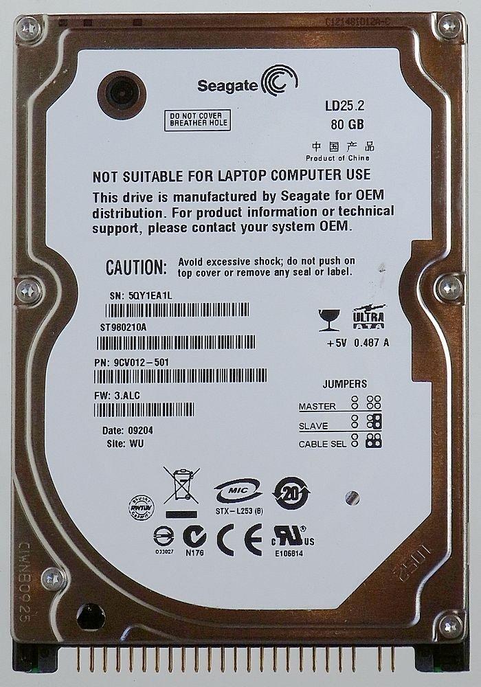 Seagate ST980210A 80GB