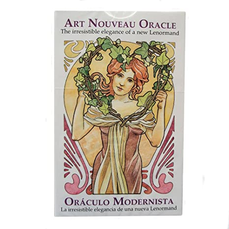 Art Nouveau Liberty Oracle, Mazo de 36 Cartas de Adivinación ...