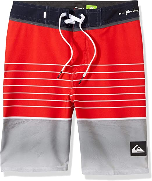 Quiksilver Boys Highline Swell Vision Kids Swim Trunks