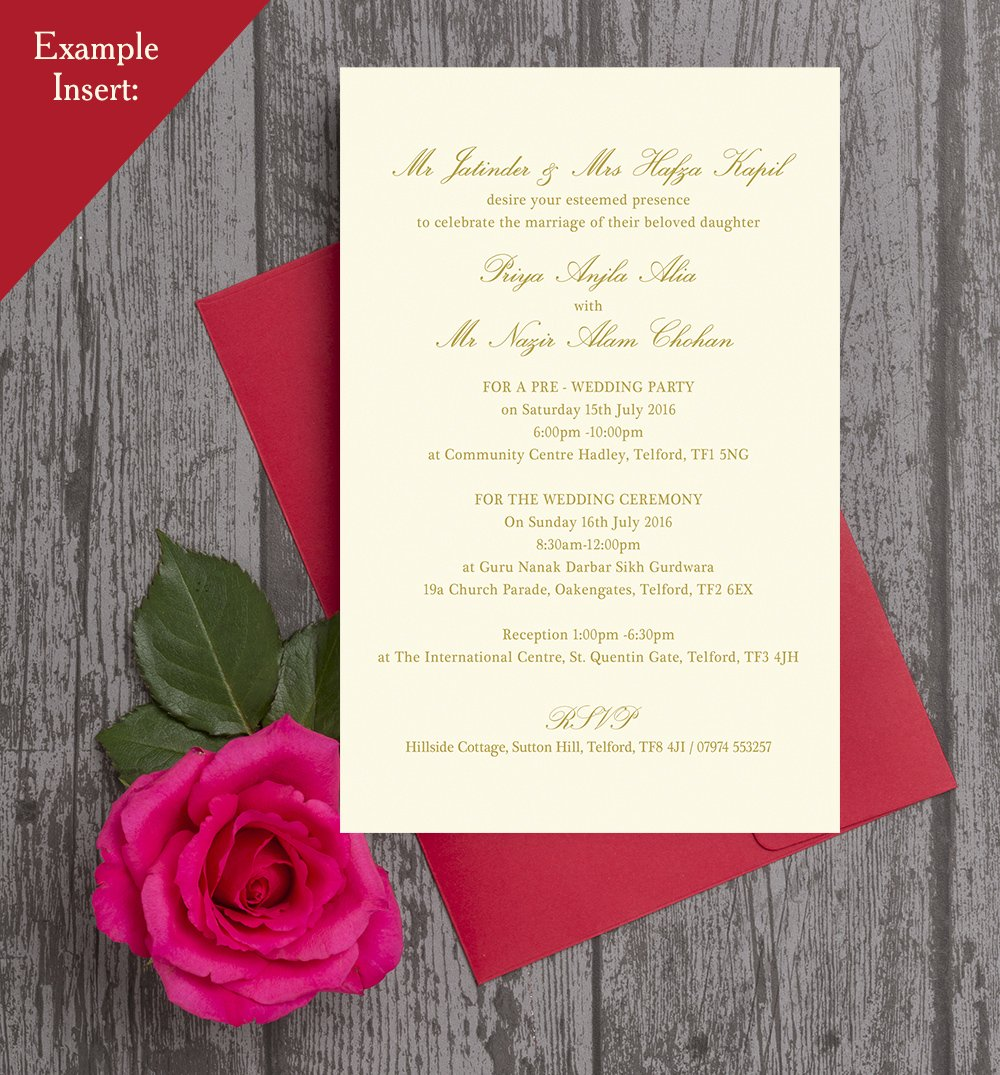 Perfect Pre Wedding Invitation Composition - Invitations and ...