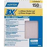 """3X Sandsheet 150 Grit Sandpaper 9"""" X 11"""""""