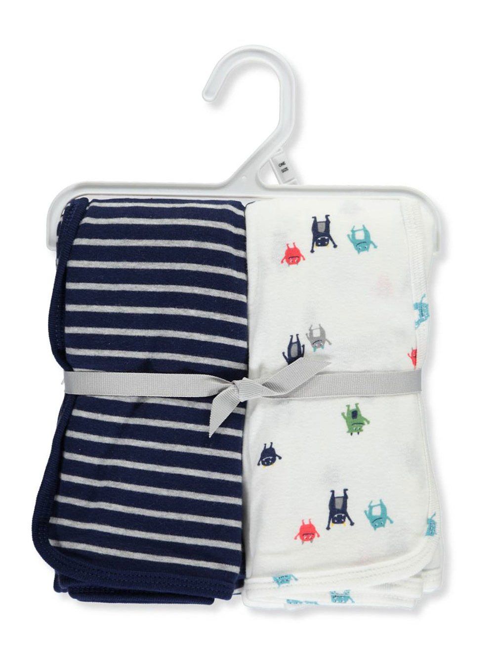 Carter's 2-Pack Swaddle Blankets - navy, one size Carter's 126G889