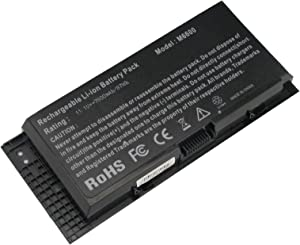 Fancy Buying CO. New Laptop Battery for Dell Precision M4800 M6600 M6800 FV993 FJJ4W PG6RC 7DWMT JHYP2 K4RDX 9-Cell 11.1V 7800mAh