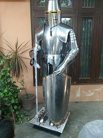 Amazon.com: Rápido traje de caballero medieval de peluche ...